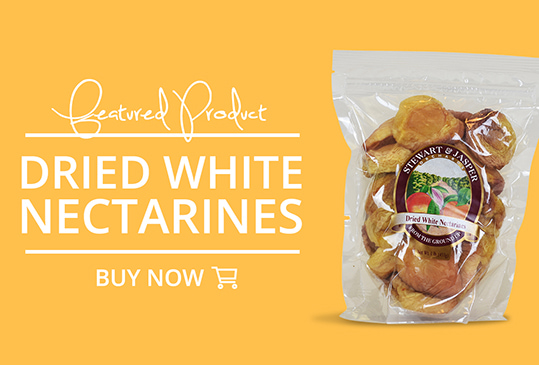 Featured Product: Dried White Nectarines. Buy Now