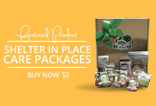 Featured Product: Shelter In Place Care Packages. Buy Now